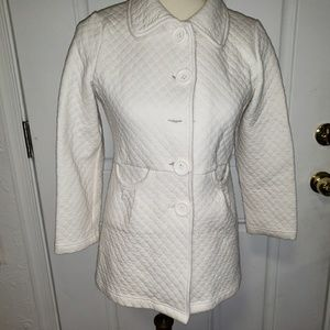 Sugarfly  White  Jacket XL Buttons Down